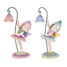 Fairies Holding Flowers Figurines (4 pc. ppk.)