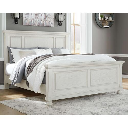 Robbinsdale King Panel Bed