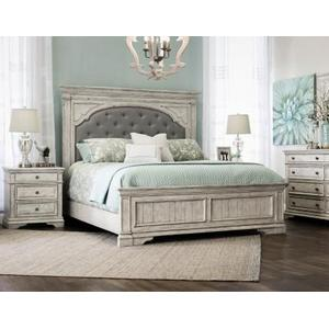 Highland Park Nightstand, Cathedral White