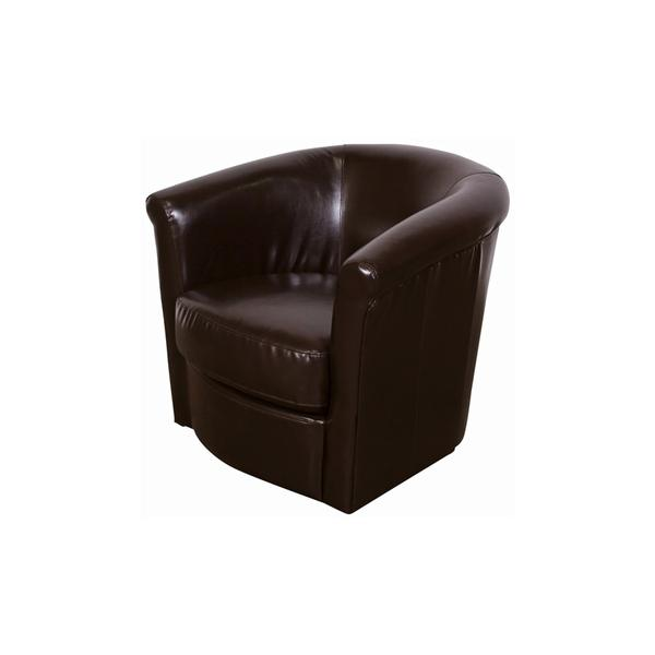 See Details - Marvel Chocolate Swivel Chair, AC210