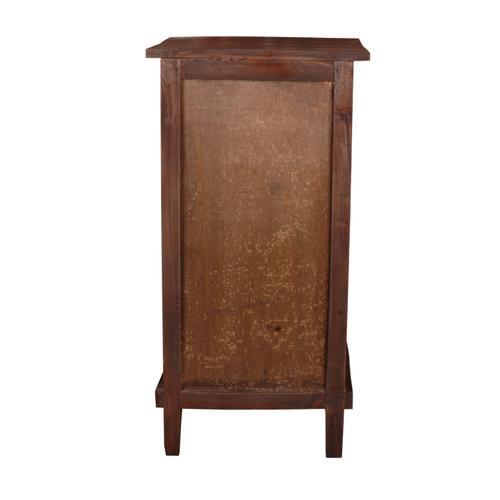 End Table - Rustic Mahogany