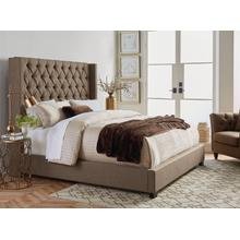 Westerly King Upholstered Bed, Brown