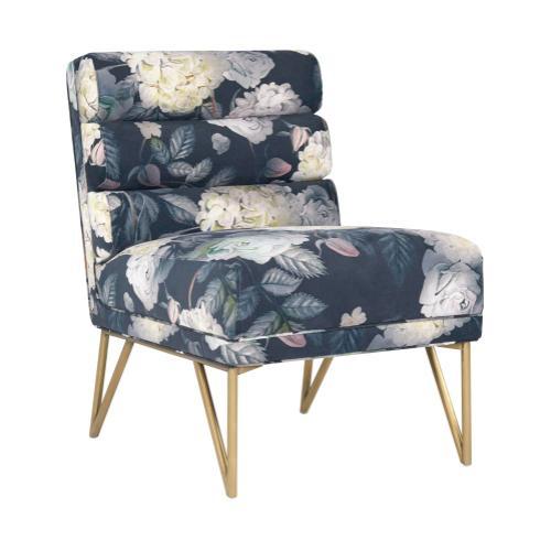 Tov Furniture - Kelly Floral Velvet Chair