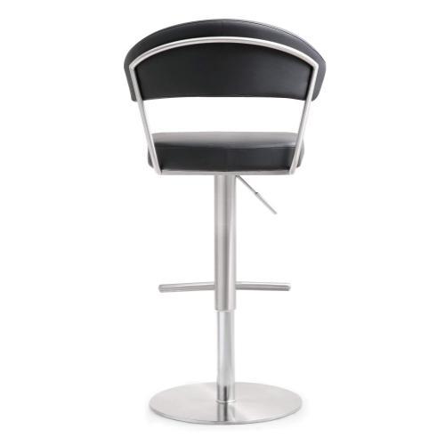 Product Image - Cosmo Black Steel Adjustable Barstool