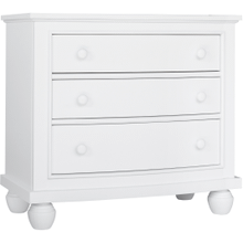Nantucket Three Drawer Nightstand