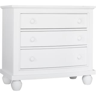 Nantucket White Drawer Nightstand