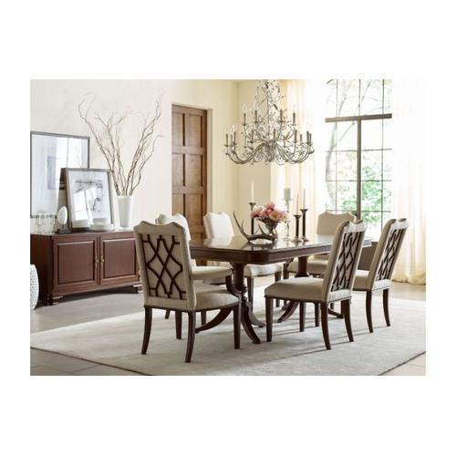 Double Pedestal Dining Table - Complete