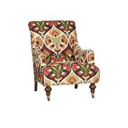Gina Chair, Gina Ottoman Product Image