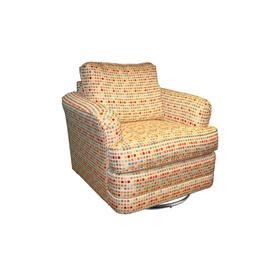 Swivel Chair, Fully Upholstered.