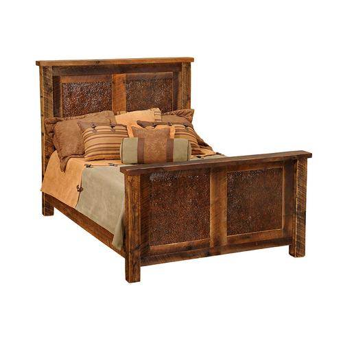 Fireside Lodge - Copper Inset Bed - King