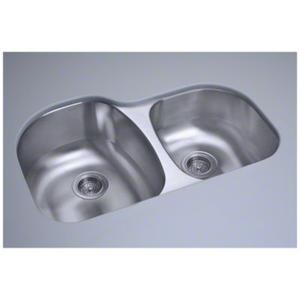 "Cinch® 31.5"" x 20.5"" x 9"" Undercounter Offset Sink Product Image"