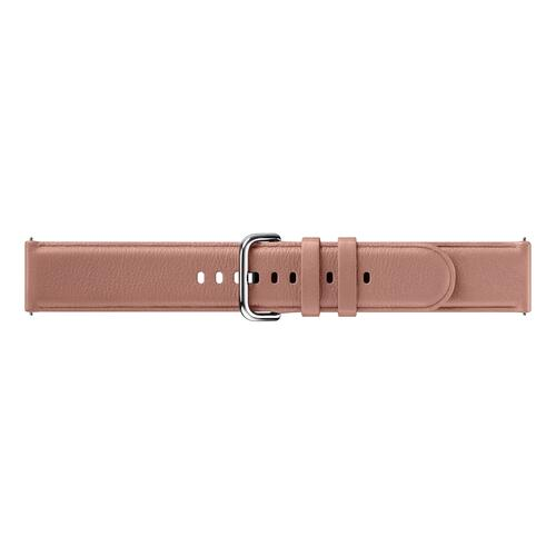 Leather Band for Galaxy Watch Active2, Pink