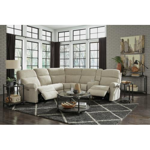 Product Image - Davis Power Reclining Sectional with Power Headrests