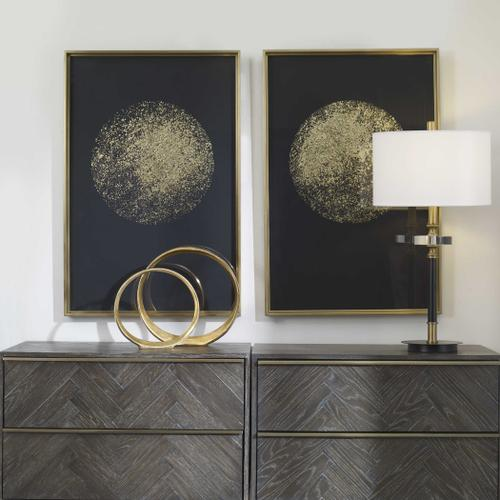 Product Image - Gold Rondure Framed Prints, S/2, 2 Cartons