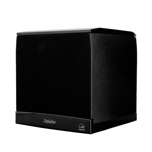 """Definitive Technology - High Performance 1200W Powered Subwoofer With 8"""" Woofer and Dual 8"""" Bass Radiators"""