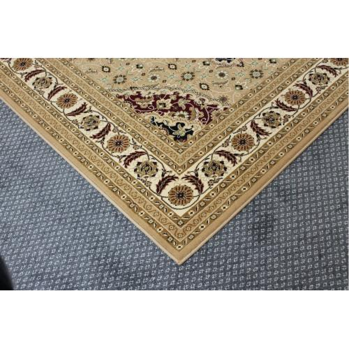 "Persian Design 1 Million Point Heatset Monalisa T02 Area Rugs by Rug Factory Plus - 5'4"" x 7'5"" / Brown"
