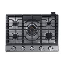 """See Details - 30"""" Chef Collection Gas Cooktop with 22K BTU Dual Power Burner in Stainless Steel"""