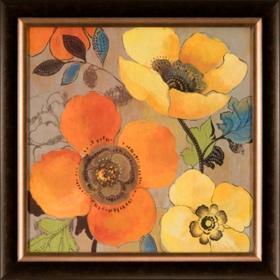 Yellow and Orange Poppies I
