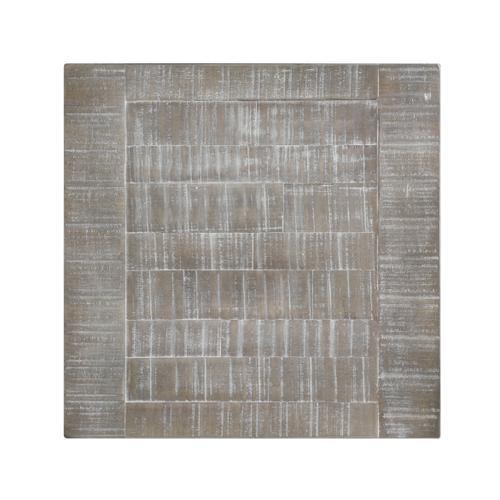 Centerville 1-drawer End Table, Acorn Gray & Antique White T727-01-09