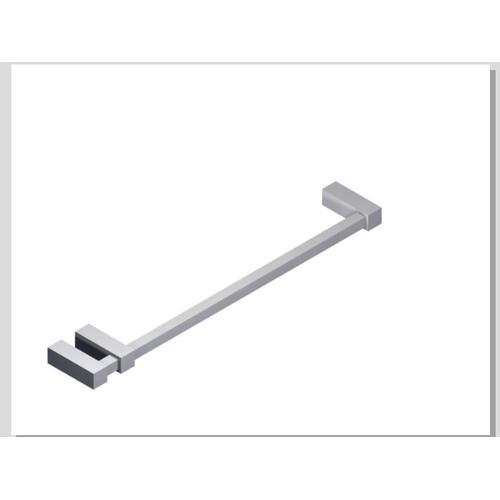 """Loft 18"""" Double Post Towel Bar SQU Chrome"""