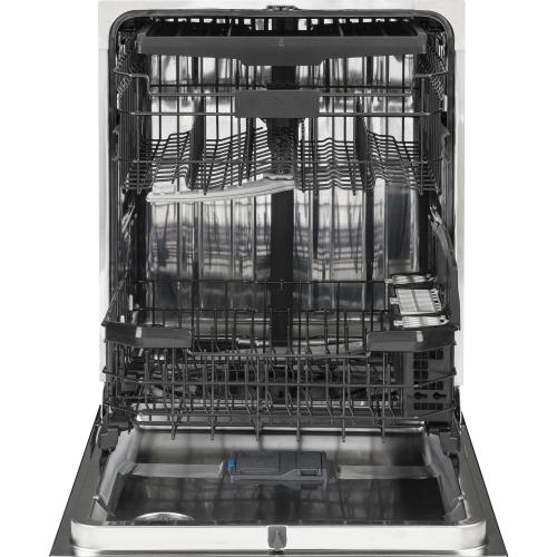 GE Appliances - GE® Stainless Steel Interior Dishwasher with Hidden Controls