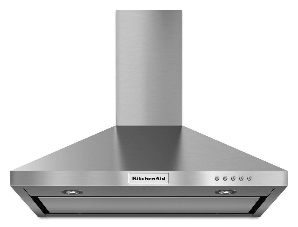 KitchenAid30'' Wall-Mount, 3-Speed Canopy Hood - Stainless Steel