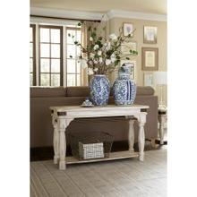 View Product - Regan - Sofa Table - Farmhouse White Finish