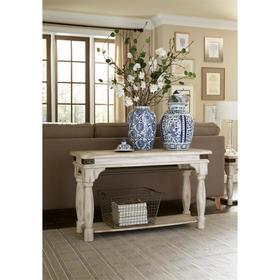Regan - Sofa Table - Farmhouse White Finish