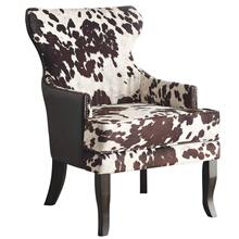 Angus Accent Chair in Brown