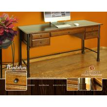 See Details - Home Office Desk w/Coconut Palm Tree