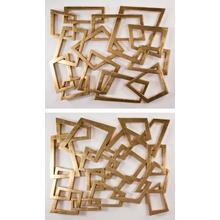 "Wall Decor - Set of 2 56x46"" each"