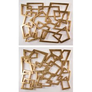 "Artmax - Wall Decor - Set of 2 56x46"" each"