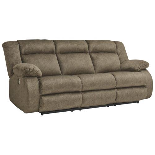 Signature Design By Ashley - Burkner Power Reclining Sofa
