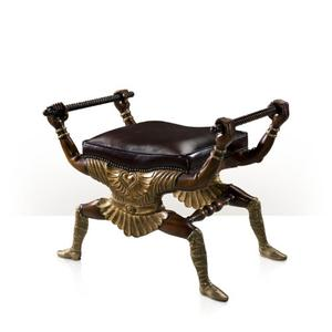 Theodore Alexander - Manx Whimsical Stool, Boodles
