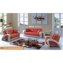 7030 Orange & Beige