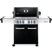 Prestige 500 RSIB with Infrared Side and Rear Burners , Black , Propane