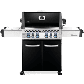 Prestige 500 RSIB Infrared Side & Rear Burners , Black , Propane
