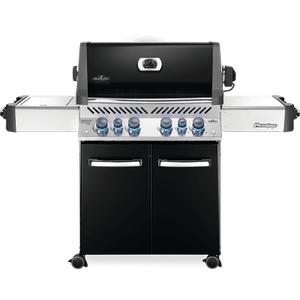 Napoleon BBQPrestige 500 RSIB with Infrared Side and Rear Burners , Black , Natural Gas