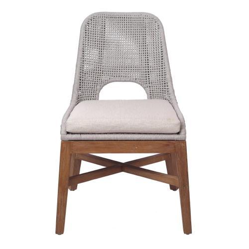 Margot Rope Chair, Gray