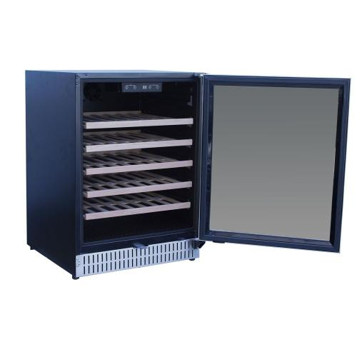"24"" Outdoor Rated Dual Zone Wine Cooler"