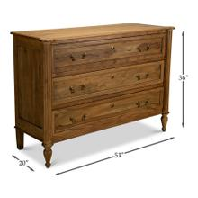Chamberlain Chest Of Drawers, Driftwood