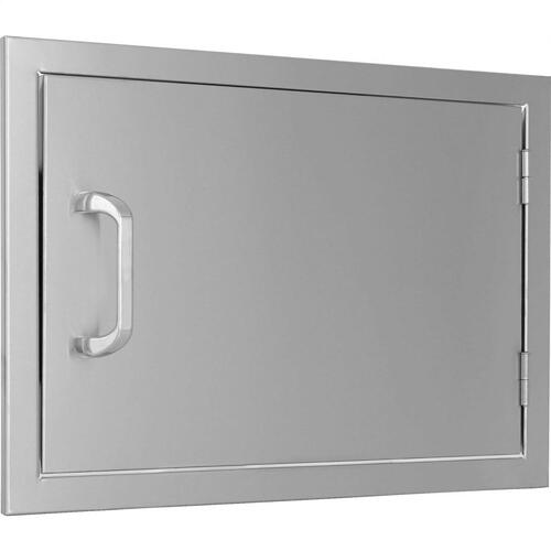 Single Horizontal Door - 24Wx17H