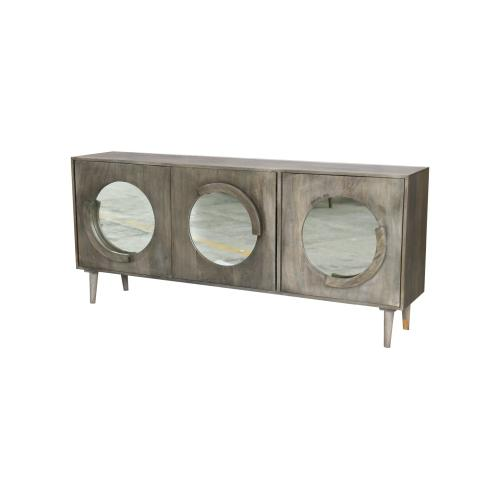 Hillcrest 3 Door Mango Wood Sideboard