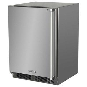 Marvel24-In Outdoor Built-In All Refrigerator With Maxstore Bin with Door Swing - Left