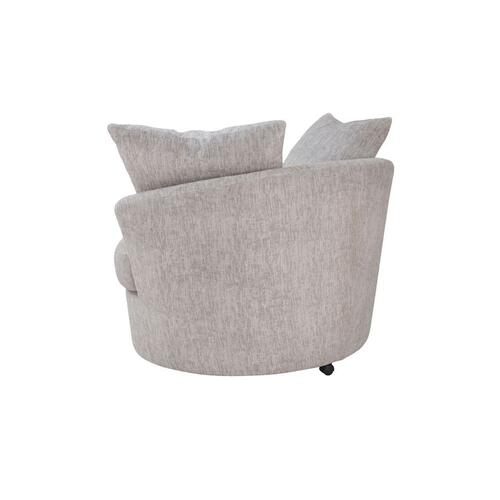 Big Chill Oatmeal Swivel Chair, AC4439