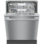 MieleMiele G 7156 SCVi SF - Fully integrated dishwasher XXL with 3D MultiFlex Tray for maximum convenience.