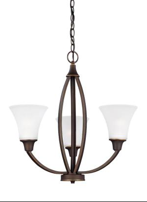Three Light Chandelier Product Image