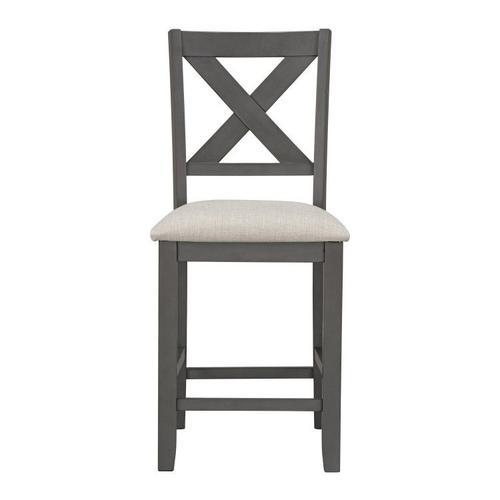 Standard Furniture - Sandpiper Grey Upholstered Barstools