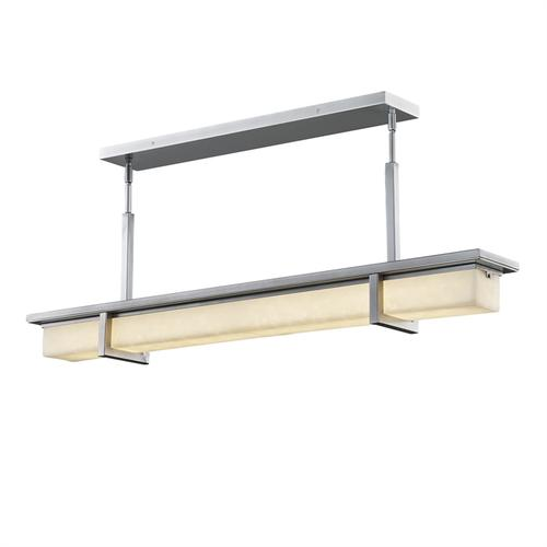 "Monolith 40"" Linear LED Outdoor Chandelier"
