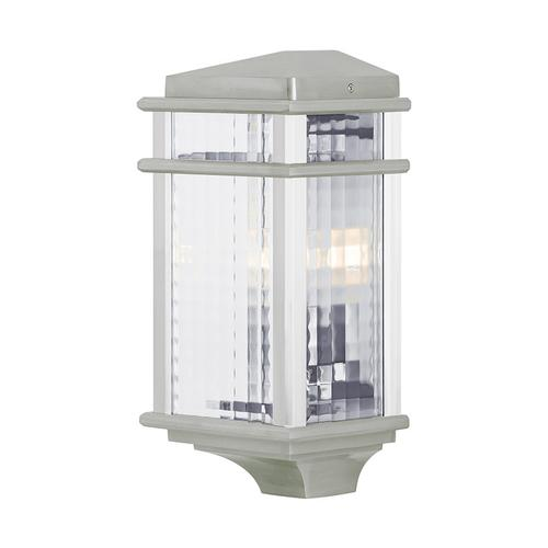 Mission Lodge Small Pocket Lantern Brushed Aluminum
